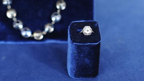 Antiques Roadshow -- S19 Ep12: Appraisal: Necklace & Diamond Ring, ca. 1920