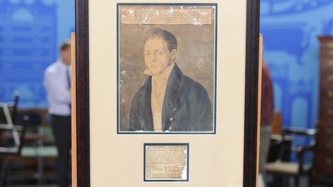Antiques Roadshow -- S19 Ep12: Appraisal: 1821 John James Audubon Portrait