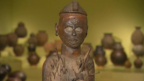 Antiques Roadshow -- Field Trip: African Carved Female Figure
