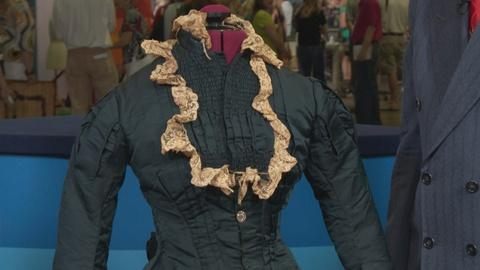 Antiques Roadshow -- S19: Web Appraisal: Wedding Gown with Bustle, ca. 1880