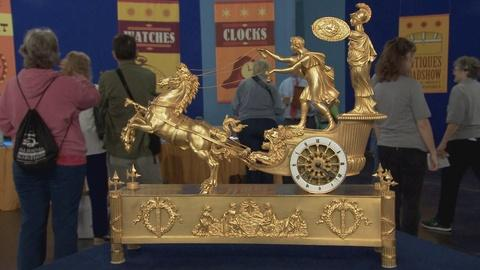 Antiques Roadshow -- S19 Ep13: Appraisal: French Gilded Bronze Clock, ca. 1810
