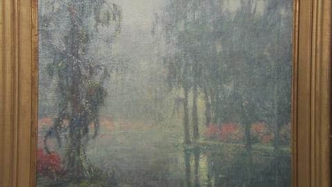 "Antiques Roadshow -- S19 Ep13: Appraisal: William P. Silva ""Garden of Dreams"" Oil"