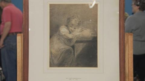 Antiques Roadshow -- S19 Ep13: Appraisal: Joshua Reynolds-Attributed Drawing, ca.