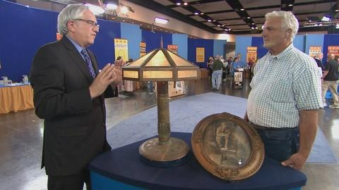 Antiques Roadshow -- S19 Ep13: Appraisal: 1919 American Trench Art Lamp