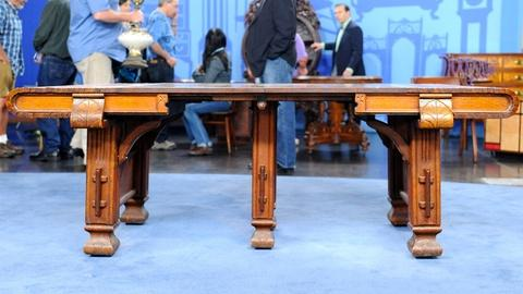 Antiques Roadshow -- S19 Ep13: Appraisal: American Dining Table, ca. 1895