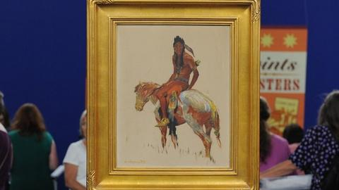 Antiques Roadshow -- S19 Ep13: Appraisal: Mid-20th Century Olaf Wieghorst Paintin