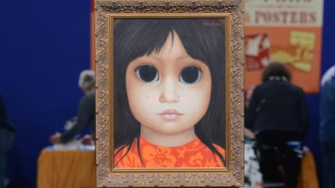 Antiques Roadshow -- S19 Ep13: Appraisal: Margaret Keane Painting, ca. 1965