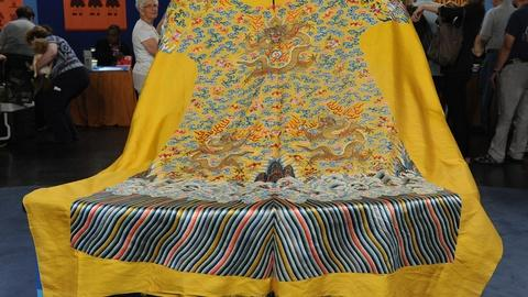 Antiques Roadshow -- S19 Ep14: Appraisal: Imperial Chinese Uncut Robe, ca. 1880