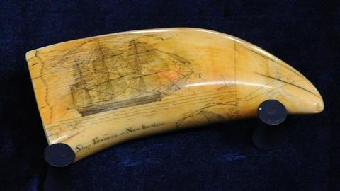 Antiques Roadshow -- S19 Ep14: Appraisal: Fred Myrick Scrimshaw Tooth, ca. 1830