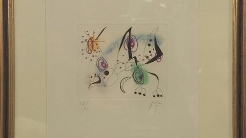 Antiques Roadshow -- S19 Ep15: Appraisal: Joan Miró Etching