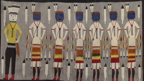 Antiques Roadshow -- S19 Ep16: Appraisal: Navajo Yeibichai Rug, ca. 1930