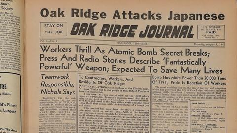 Antiques Roadshow -- S19 Ep16: Appraisal: 1945 Oak Ridge Journal Archive