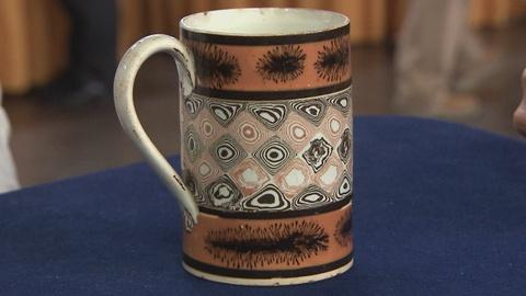 Antiques Roadshow -- S19 Ep16: Appraisal: Mochaware Mug