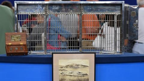 Antiques Roadshow -- S19 Ep17: Appraisal: 1932 Alcatraz Jail Cell Salesman Sample