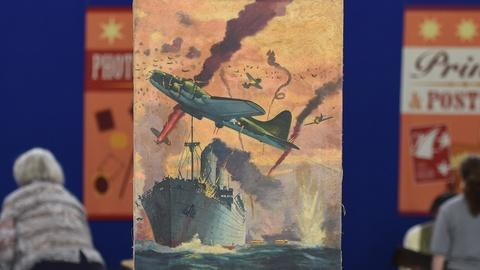 "Antiques Roadshow -- S19 Ep17: Appraisal: 1944 Frederick Blakeslee ""Battle Birds"""