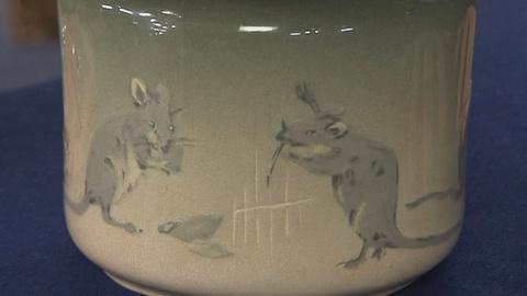 Antiques Roadshow -- S19 Ep17: Appraisal: Weller Eocean Claude Leffler Pot, ca. 1