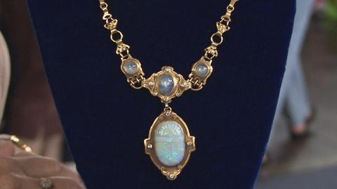 Antiques Roadshow -- S19 Ep17: Appraisal: Arts & Crafts Sapphire & Opal Necklace,