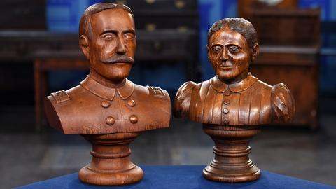 Antiques Roadshow -- S19 Ep18: Appraisal: Admiral Dewey & Susan B. Anthony Busts