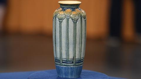 Antiques Roadshow -- S19 Ep18: Appraisal: Newcomb College Vase, ca. 1905