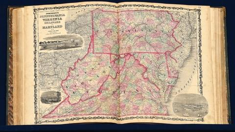Antiques Roadshow -- S19 Ep18: Appraisal: 1863 Johnson's Family Atlas