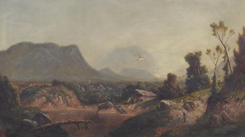 Antiques Roadshow -- S19 Ep18: Appraisal: 1875 W.S. Young Landscape Oil