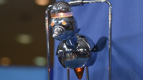 Antiques Roadshow -- S19 Ep18: Appraisal: Torino Chrome Robot Bird Lamp, ca. 1965