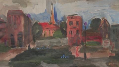 Antiques Roadshow -- Web Appraisal: Joan Mitchell Paintings, ca. 1950