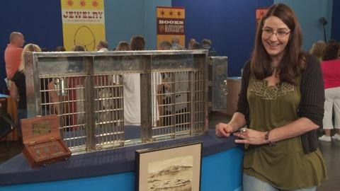 Antiques Roadshow -- S19 Ep17: Owner Interview: 1932 Alcatraz Jail Cell Salesman