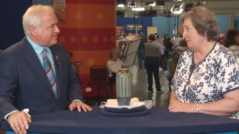 Antiques Roadshow -- S19 Ep18: Bonus Video: See the Newcomb Vase After Cleaning