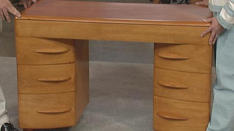Antiques Roadshow -- S19 Ep25: Appraisal: Heywood Wakefield Desk, ca. 1940