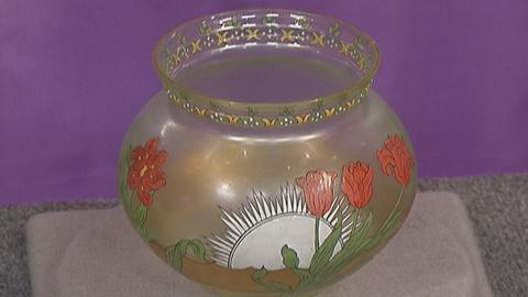 Antiques Roadshow -- S19 Ep25: Appraisal: Fritz Heckert Glass Vase, ca. 1895