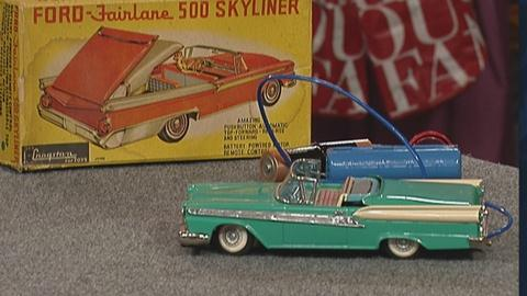 Antiques Roadshow -- S19 Ep25: Appraisal: Ford Fairlane Toy, ca. 1959