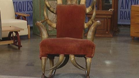Antiques Roadshow -- S19 Ep25: Appraisal: Texas Longhorn Rocking Chair