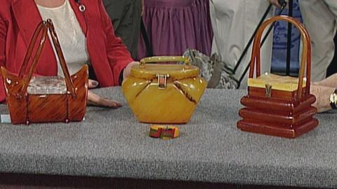 Antiques Roadshow -- S19 Ep27: Appraisal: Bakelite Purses & Bracelet