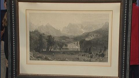 Antiques Roadshow -- S19 Ep27: Appraisal: 1866 Print after Bierstadt Painting
