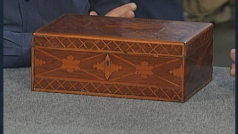 Antiques Roadshow -- S19 Ep27: Appraisal: Samuel Mudd Marquetry Box