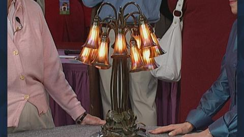 "Antiques Roadshow -- S19 Ep27: Appraisal: Tiffany Studios ""Pond Lily"" Lamp"
