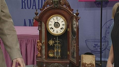 Antiques Roadshow -- S19 Ep27: Appraisal: Ansonia Mantel Clock, ca. 1883