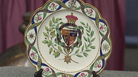 Antiques Roadshow -- S19 Ep27: Appraisal: 1789 Duke of Clarence Plate