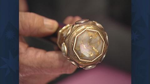 Antiques Roadshow -- S21 Ep28: Appraisal: Gold-Quartz Cane, ca. 1850