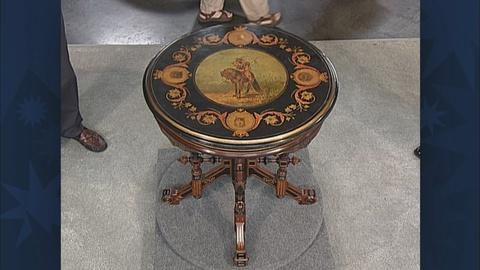 Antiques Roadshow -- Appraisal: American Parlor Table, ca. 1875