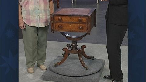 Antiques Roadshow -- S19 Ep31: Appraisal: Boston Sewing Table, ca. 1815