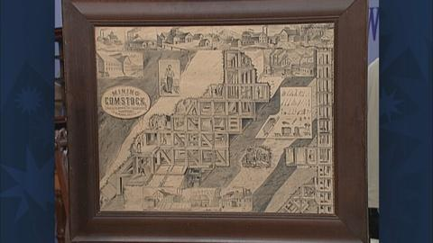 Antiques Roadshow -- S19 Ep31: Appraisal: 1877 Print of Comstock Lode