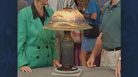 Antiques Roadshow -- S19 Ep28: Appraisal: Pairpoint Sea Gull Lamp, ca. 1910