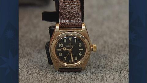Antiques Roadshow -- S19 Ep28: Appraisal: 1944 Rolex Bubbleback Watch
