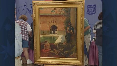 Antiques Roadshow -- S19 Ep28: Appraisal: Benjamin-Constant Painting, ca. 1870