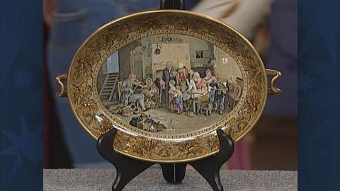 Antiques Roadshow -- S19 Ep28: Appraisal: Pratt Footed Dish, ca. 1860
