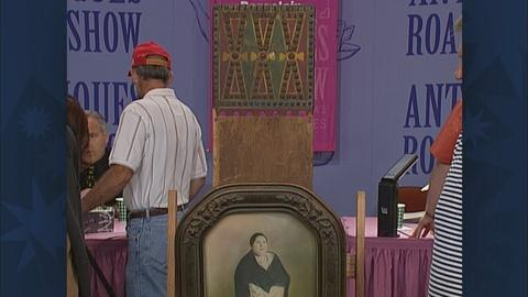 Antiques Roadshow -- S19 Ep28: Appraisal: Osage Wood Cradle Board & Photo