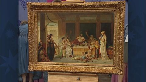 Antiques Roadshow -- S19 Ep28: Appraisal: 1876 Joseph Coomans Oil