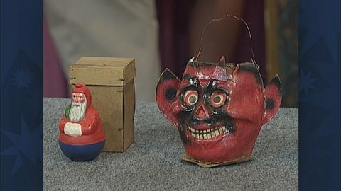 "Antiques Roadshow -- S19 Ep28: ""Appraisal: German Devil Lantern, ca. 1930		"""